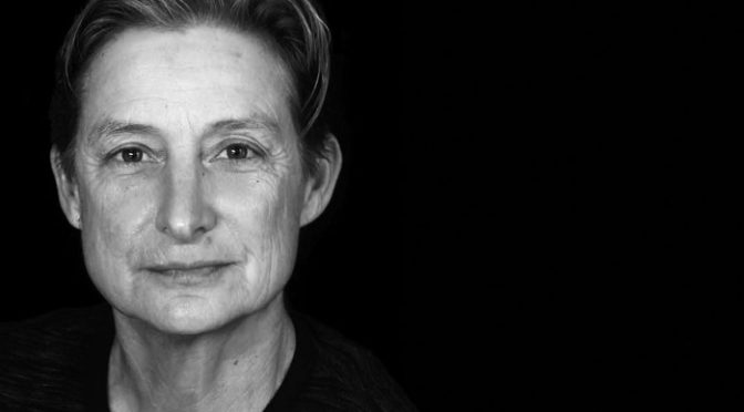 foto JUDITH BUTLER giving a talk in Barcelona on November 15 2015_700