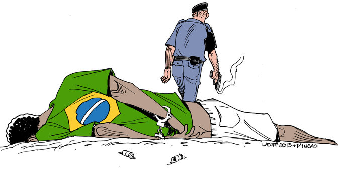 A violência no Brasil tem cara, cor e endereço