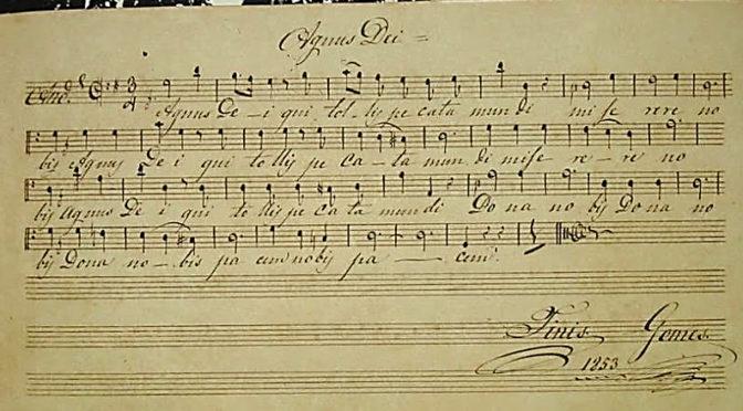 'Maneco Músico', pai e mestre do maestro Carlos Gomes