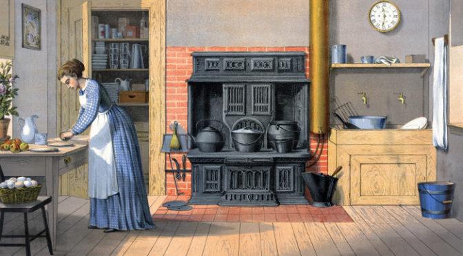Pense no garfo! A história da cozinha e de como comemos