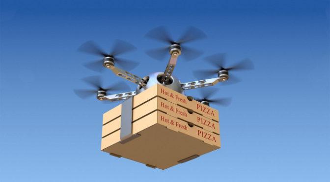 Encomenda pelos ares, como os drones prometem revolucionar a distribuição