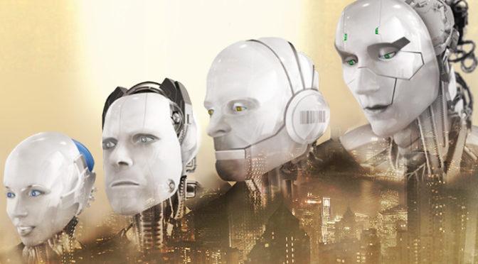 Em 'Eu, robô' de Isaac Asimov, os robôs são distração