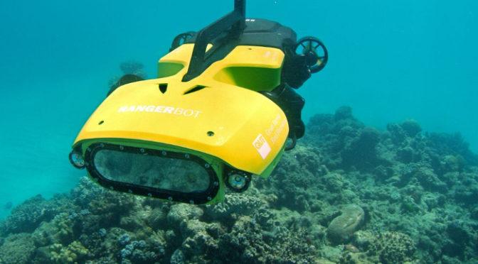 Robôs no fundo do mar