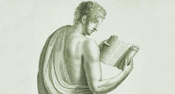 Um debate do tipo e-books versus livros de papel, mas na Roma antiga