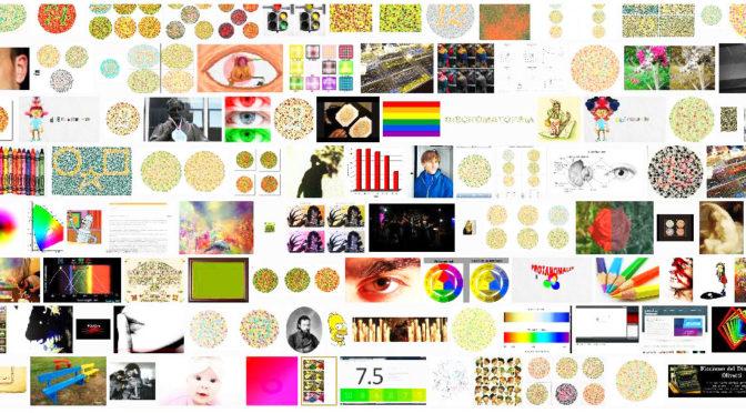 Percepção da cor na leitura de obras de arte por pessoas daltônicas