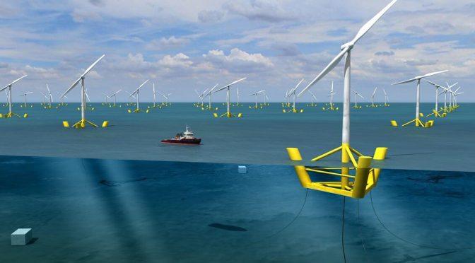 Expansão dos parques eólicos em direção ao mar pode ajudar país a suprir demanda energética