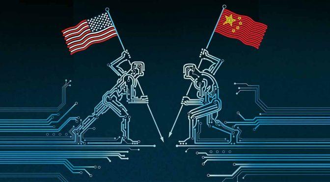Guerra tecnológica entre China e EUA no contexto da indústria 4.0