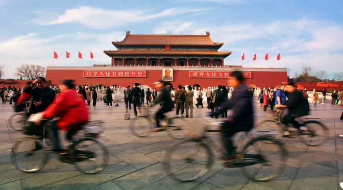 Uma breve trajetória da questão ambiental recente na China