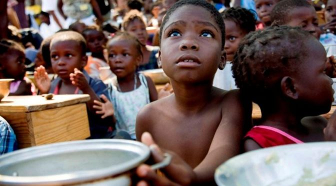 A fome continua presente